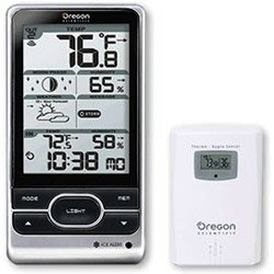 Oregon Scientific BAR388HGA Wireless Weather Station with Atomic Clock (OR-BAR208HGA) Category: Outdoor Thermometers and Weather Radios