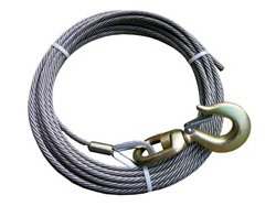 BA Products 4-38PS75S Winch Cable, 3/8