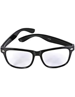 Clear Fashion Glasses Black Pink Nerd Glasses Buddy Wayfarer