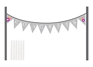 Creative Converting I Do Cake, Congrats Banner Kit from Creative Converting