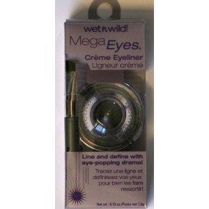Wet 'n' Wild Mega Eyes Creme Eyeliner, 886 Black