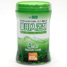 MKC 薬用入浴剤森の香り 800g