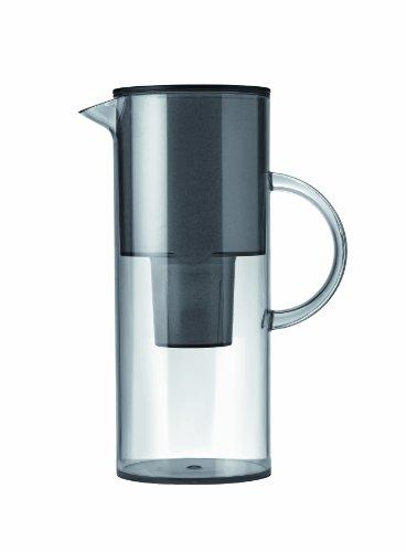 2 Litre Water Filter Jug, 1310-10 Standard Smoke By Stelton