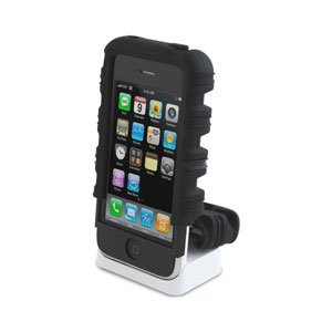 Speck Products Tough Skin Case for iPhone 3G, 3G S (Black)