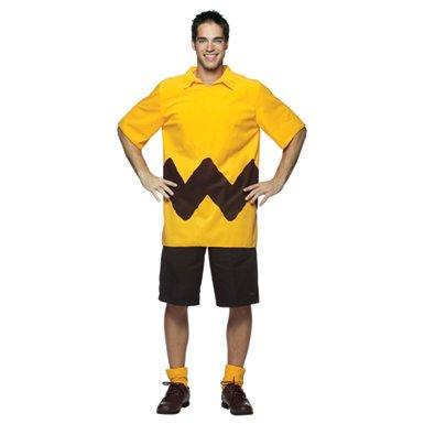 Mens Charlie Brown Peanuts Halloween Costume