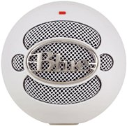 Blue Snowball Usb Microphone, White