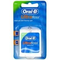 Oral-B Ultrafloss Dental Floss Waxed Mint 25m