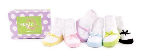 Imagen de Trumpette Suzie Q 6 pares de calcetines, variado, 0-12 meses