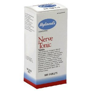 Nerve Tonic by Hylands - 500 Tablets ( Multi-Pack)