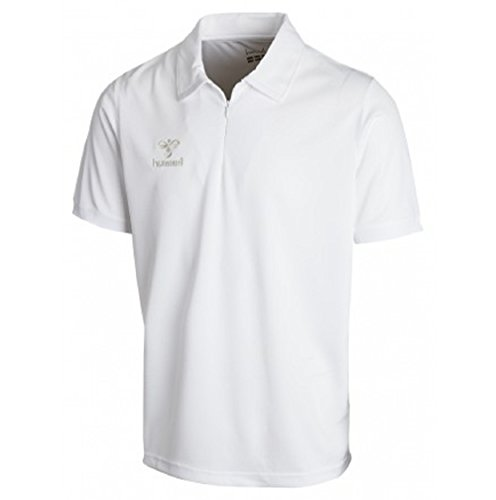 Hummel, Polo Uomo BASIC FUNCTIONAL, Bianco (white), XL
