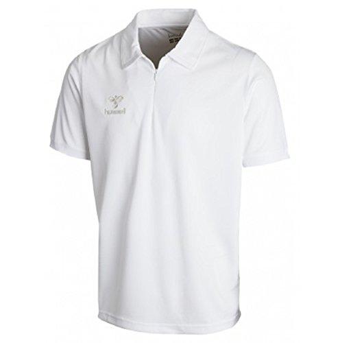 Hummel, Polo Uomo BASIC FUNCTIONAL, Bianco (white), XL