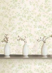 Fine Decor Saskia Wallpaper - Green from New A-Brend
