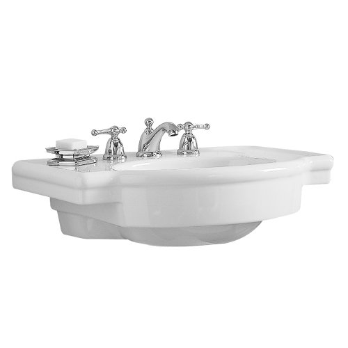 Best Prices! American Standard 0282.008.020 Retrospect Pedestal Console Sink Top with 8-Inch Faucet ...