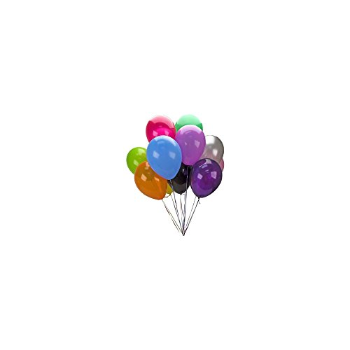 Solid Latex Balloons (10-pack)