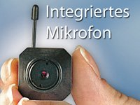 "VisorTech Micro-Cam ""Profi"" m. Funkübertragung 2.4 GHz Color"