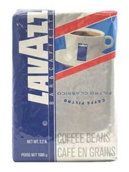 Lavazza Cafe Filtro Classico Whole Bean Coffee, 2.2 Pound Bag