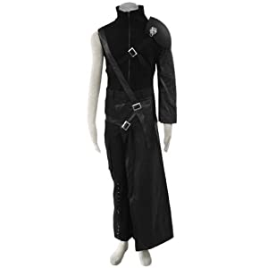 CTMWEB Anime Final Fantasy VII Cosplay Costume - Cloud Strife Outfit X-Small