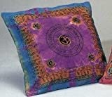 Cotton Mantra Print Cushion Cover