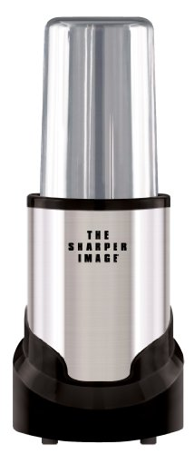 The Sharper Image Stainless Steel 15-Piece Set Multi Blender, Hi Speed 300-Watt Personal Countertop Blender Mixer System