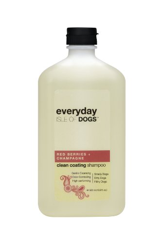 Everyday Isle Of Dogs Clean Coating Dog Shampoo, 500 Ml (Red Berries + Champagne)