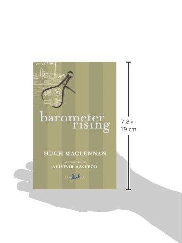 barometer rising book report