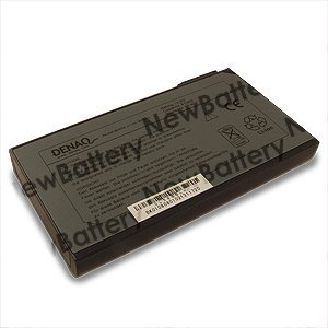 Extended Battery for Dell Inspiron 4100 (8 cells, 66Whr) by Denaq