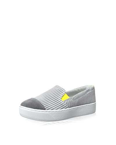 PUMA Women's Extreme Slip-On Blocks and Stripes Sneaker