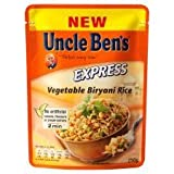 Uncle Ben's Express Vegetable Biryani Rice 250G