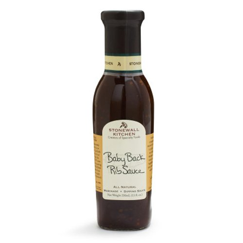 Stonewall Kitchen Baby Back Rib Sauce, 11 Ounce