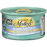 Fancy Feast Elegant Medleys Yellowfin Tuna Tuscany with Rice and Garden Greens Canned Cat Food (24/3-oz cans)