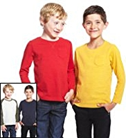 4 Pack Pure Cotton T-Shirts