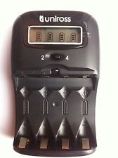 Uniross 1 Hour Lcd Charger AA/AAA Ni-MH Rechargeable Batteri