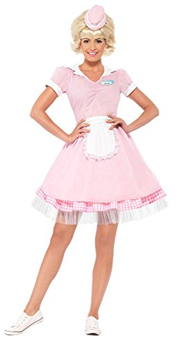 Smiffy's Women's 50's Diner Girl Costume