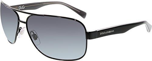 Dolce & Gabbana Sunglasses - DG 2120P / Frame: Black Lens: Polar Grey Gradient
