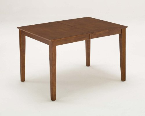 Cottage Oak Rectangular Dining Table with Leaf