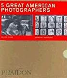 Five Great American Photographers Boxed Set: Matthew Brady, Wynn Bullock, Walker Evans, Eadweard Muybridge, Lewis Baltz (0714847100) by Panzer, Mary