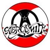 "Aerosmith - Logo (Wings) - 1.5"" Button / Pin"