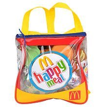 Just Like Home 37-Piece Mcdonald'S Playfood Backpack - Happy Meal