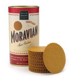 Moravian Spice Cookies - 24, 3oz (Iced Molasses Cookies compare prices)
