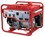 Multiquip GA6HB Portable Generator with Honda Motor, 9.4 HP, 120/240 VOLT, 6000 WATT Output