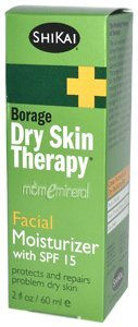 Borage Dry Skin Therapy, Facial Moisturizer, with SPF 15, 2 fl oz (60 ml) by Shikai