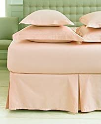Martha Stewart Collection 360T Twin Bedskirt Coral