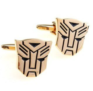 XMAS GIFT TRANSFORMERS AUTOBOT WEDDING MENS CUFF LINKS