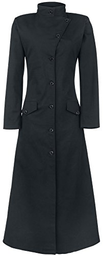 Gothicana by EMP Dark Lady Coat Cappotto donna nero M