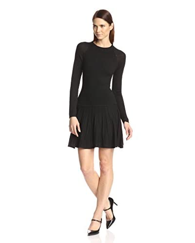 Susana Monaco Women's Edith Sweater Fit & Flare Dress