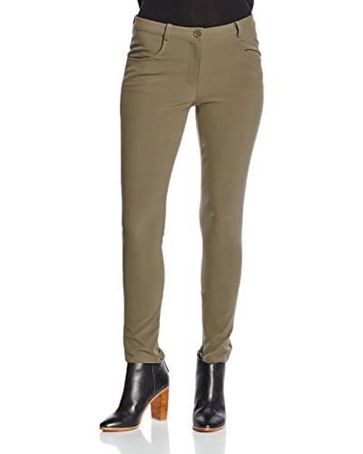 Twin Set Pantalone [Marrone Medio]