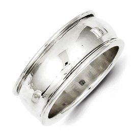 Genuine IceCarats Designer Jewelry Gift Sterling Silver Fancy Band Size 6.00
