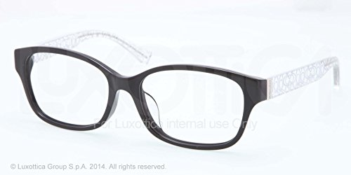 Coach Eyeglasses Hc 6049F 5151 Black/Crystal 54Mm