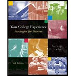 Your College Experience: Strategies for Success, Media Edition-Textbook Only (0006039529) by Gardner, John