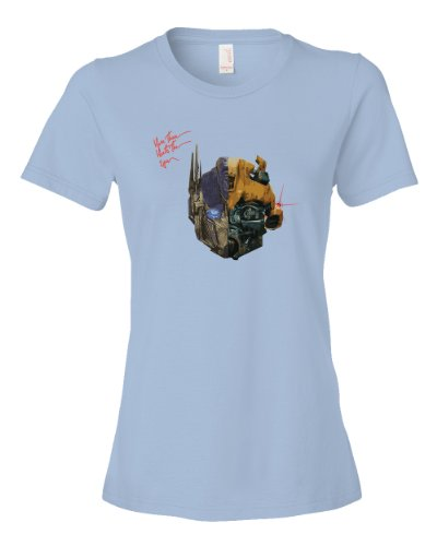 Transformers Punk Tee Shirt Womens M lightblue U